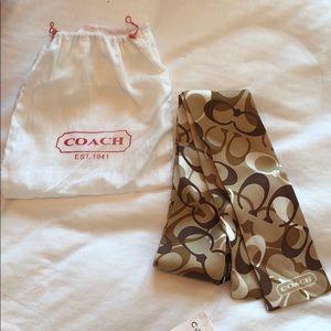 COACH Silk wrap.